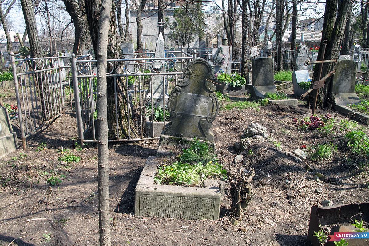 Старое кладбище Таганрога. Д. И. Делалос