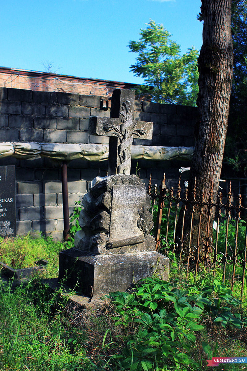 Старое кладбище Таганрога. Цуканова А. П.