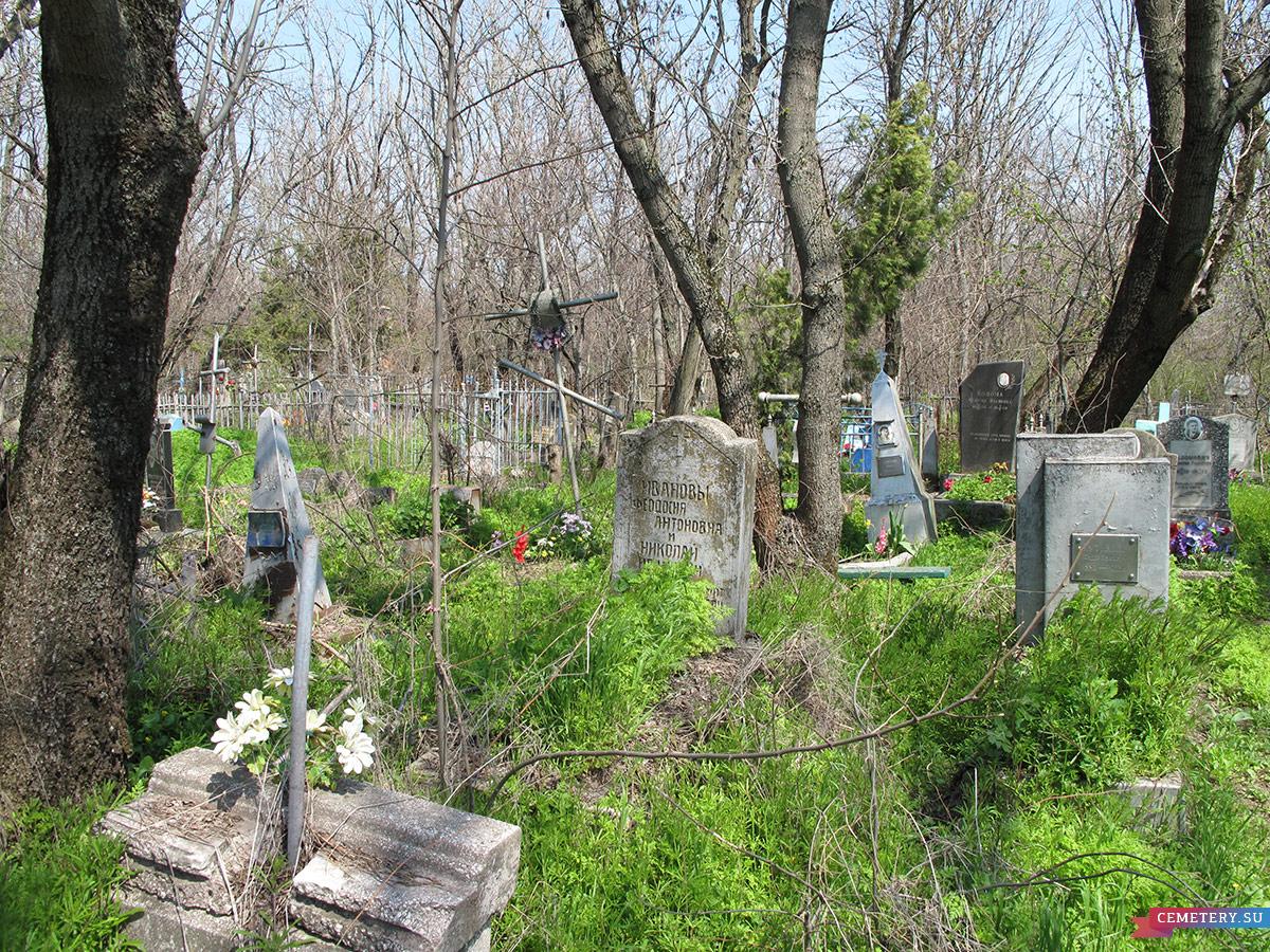 Старое кладбище Таганрога. Ивановы Ф. А. и Н. И.