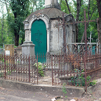 Старое кладбище Таганрога, Участок Денисовой
