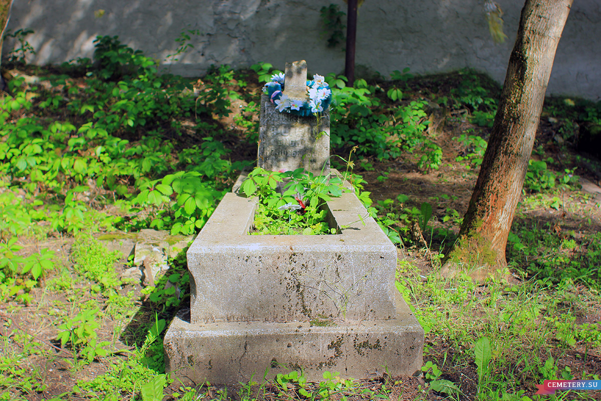 Старое кладбище Таганрога. Фогель М. П.