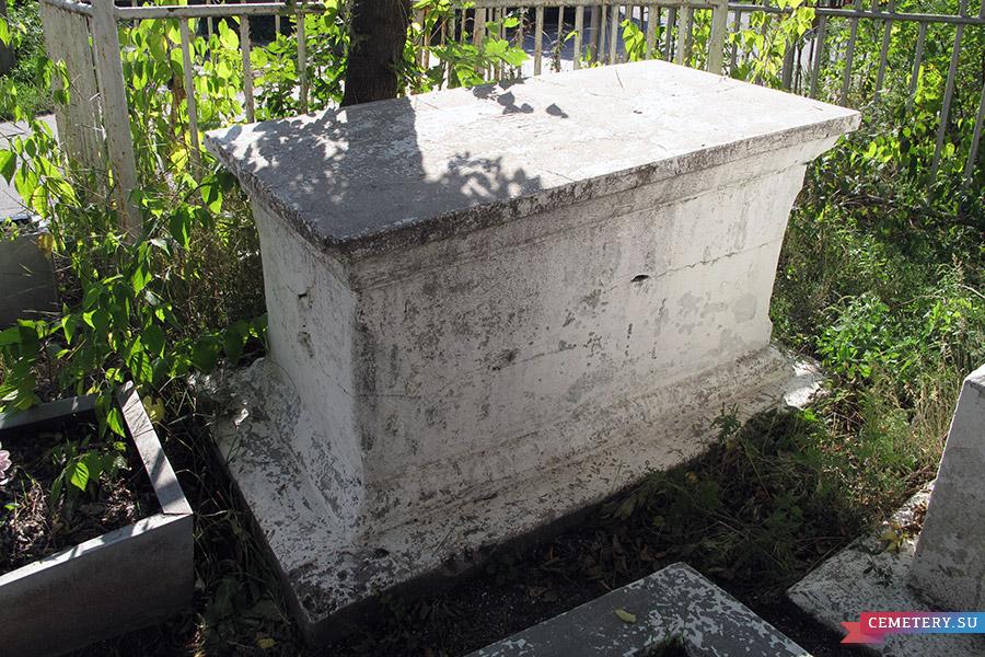 Старое кладбище Таганрога. Злова Анна Дмитриевна