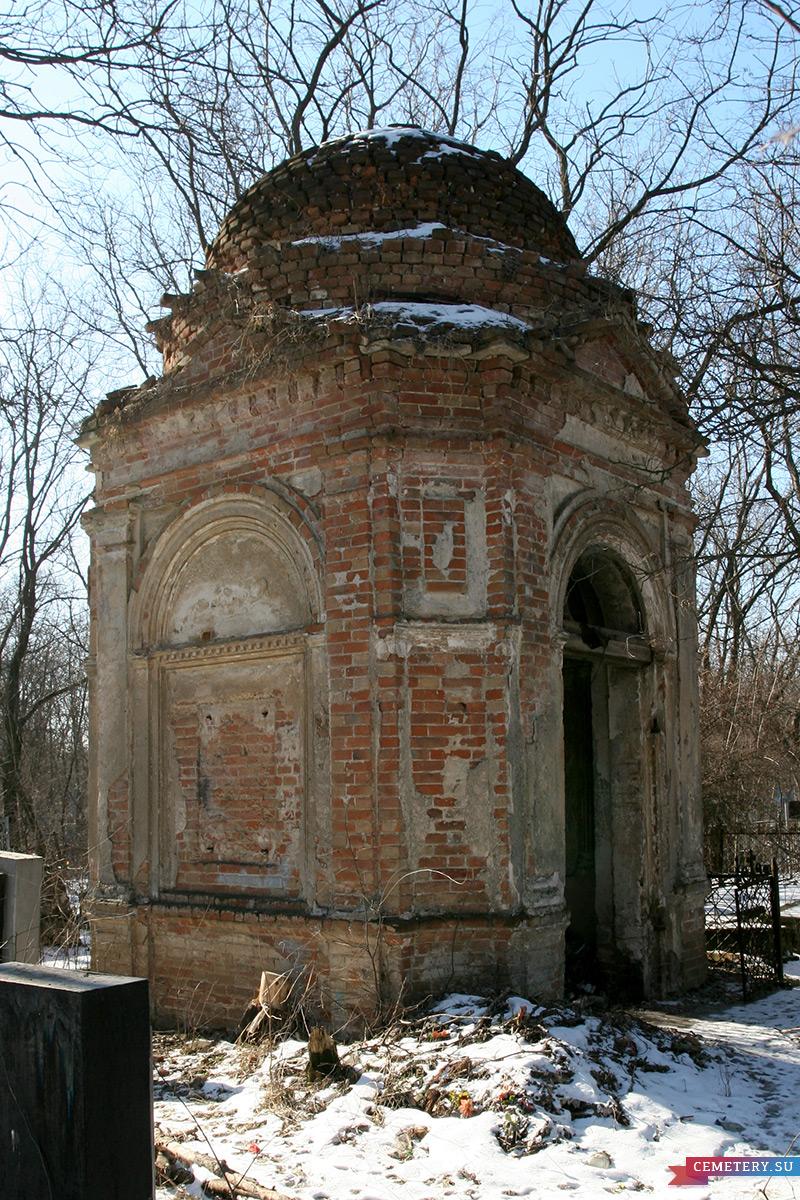 Старое кладбище Таганрога. Склеп Скараманга
