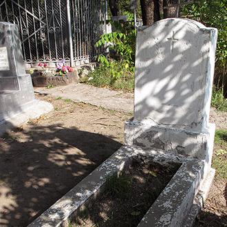 Старое кладбище Таганрога. Трегубов Н. Ф.