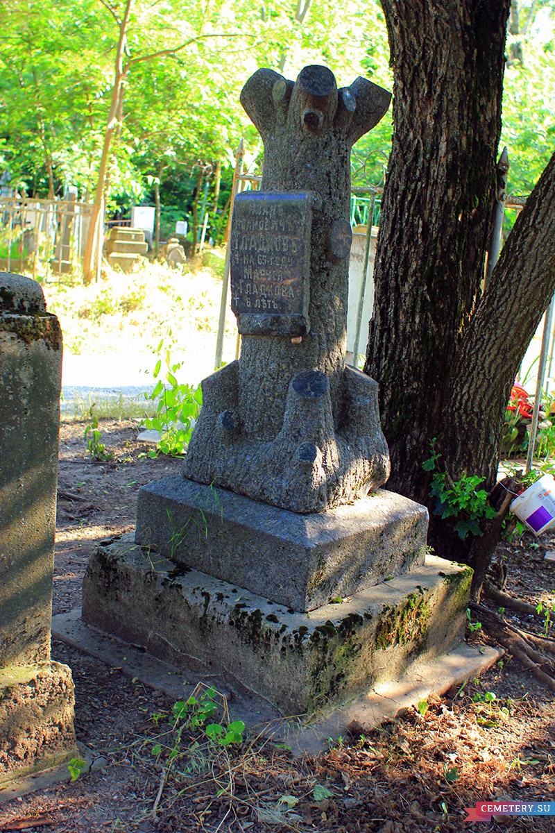 Старое кладбище Таганрога. Гладковы (дерево)