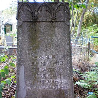Старое кладбище Таганрога. Минкевич Юлия