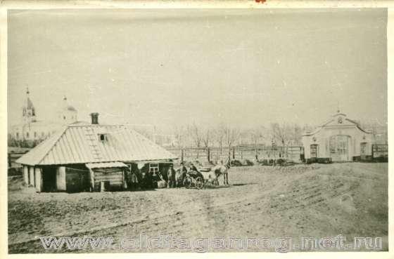 Старое кладбище Таганрога. Вид на старое кладбище (конец 19 века)