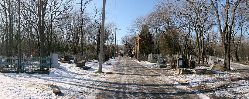 История старого кладбища в Таганроге