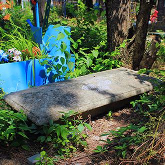 Старое кладбище Таганрога. Городской врач К. Орем