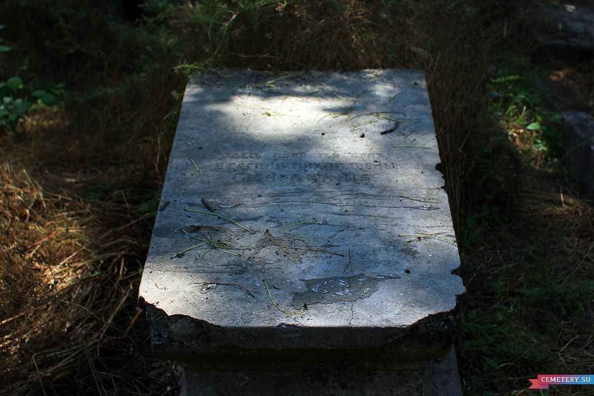 Старое кладбище Таганрога. В. М. Скараманга